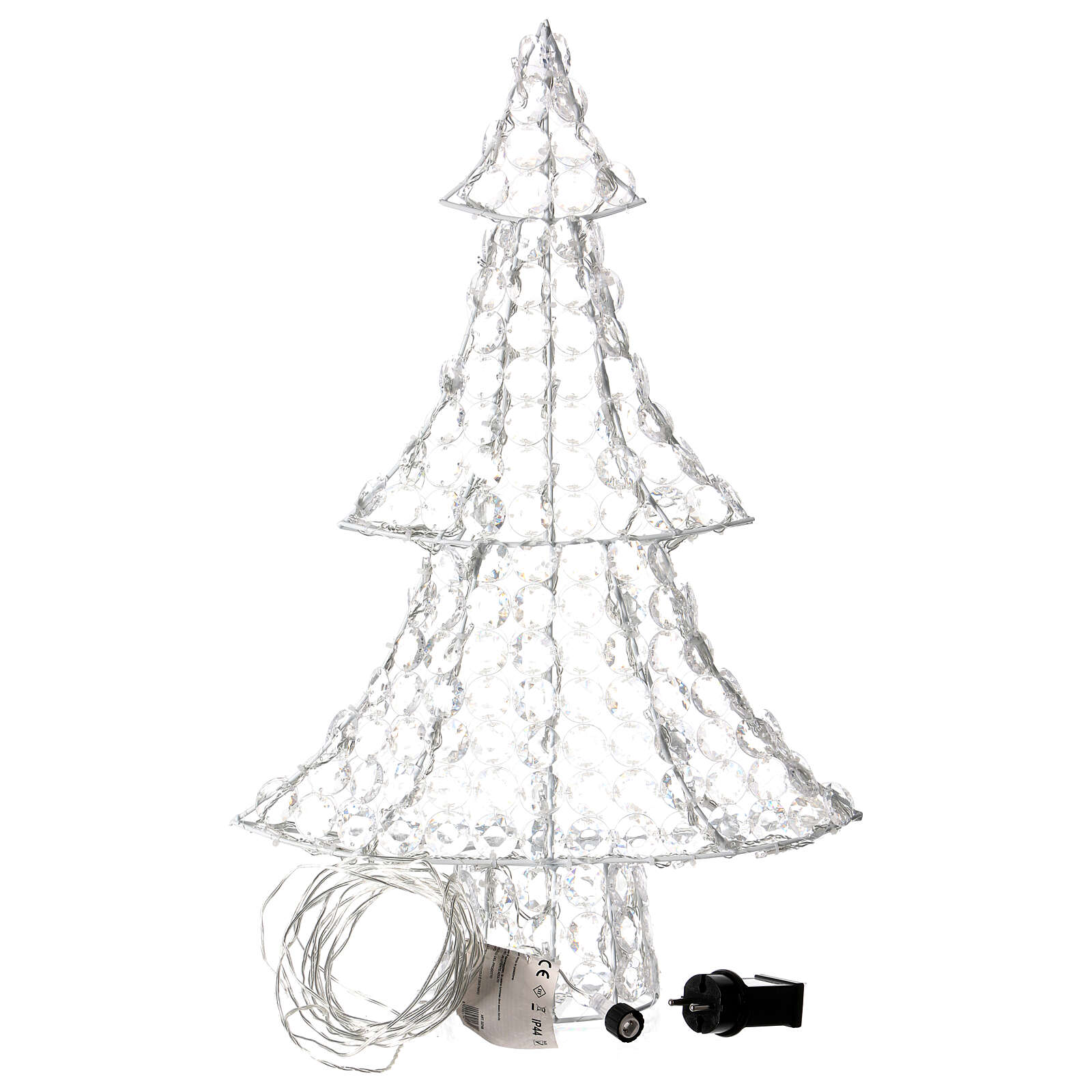 Christmas lights tree 120 LEDs, for indoor and outdoor use, | online ...