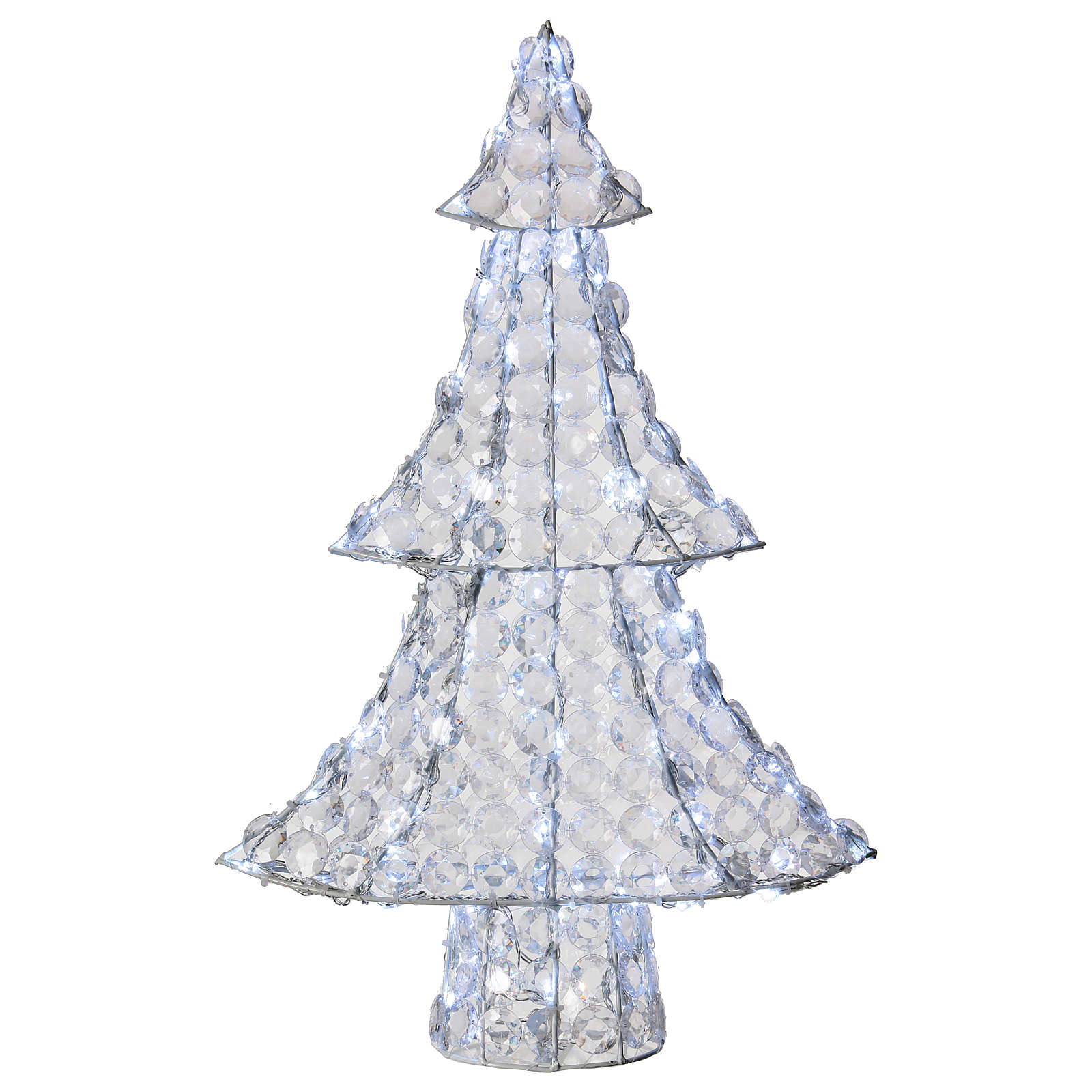 Lighted Christmas Tree.Lighted Christmas Tree 120 Led H 65 Cm Indoor Outdoor Use Ice White