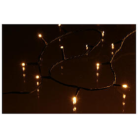 Christmas lights for indoor and outdoor use 1200 LEDs, warm light, bluetooth controlled s4
