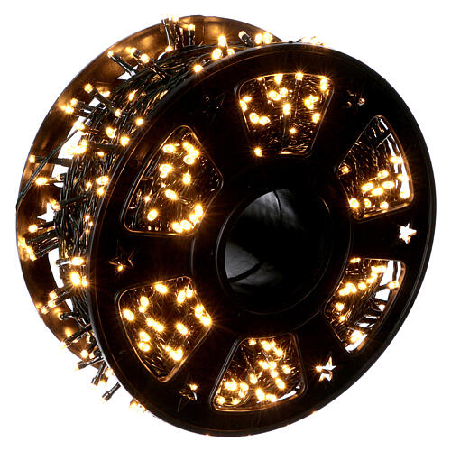 Christmas lights for indoor and outdoor use 1200 LEDs, warm light, bluetooth controlled 1