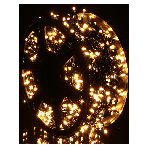 Christmas lights for indoor and outdoor use 1200 LEDs, warm light, bluetooth controlled 2