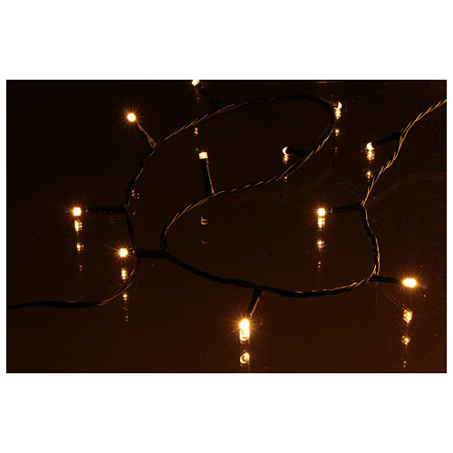 Christmas lights for indoor and outdoor use 1200 LEDs, warm light, bluetooth controlled 4