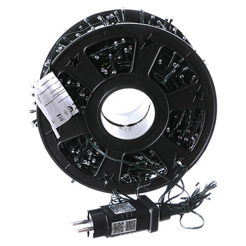 Christmas lights for indoor and outdoor use 1200 LEDs, warm light, bluetooth controlled 5