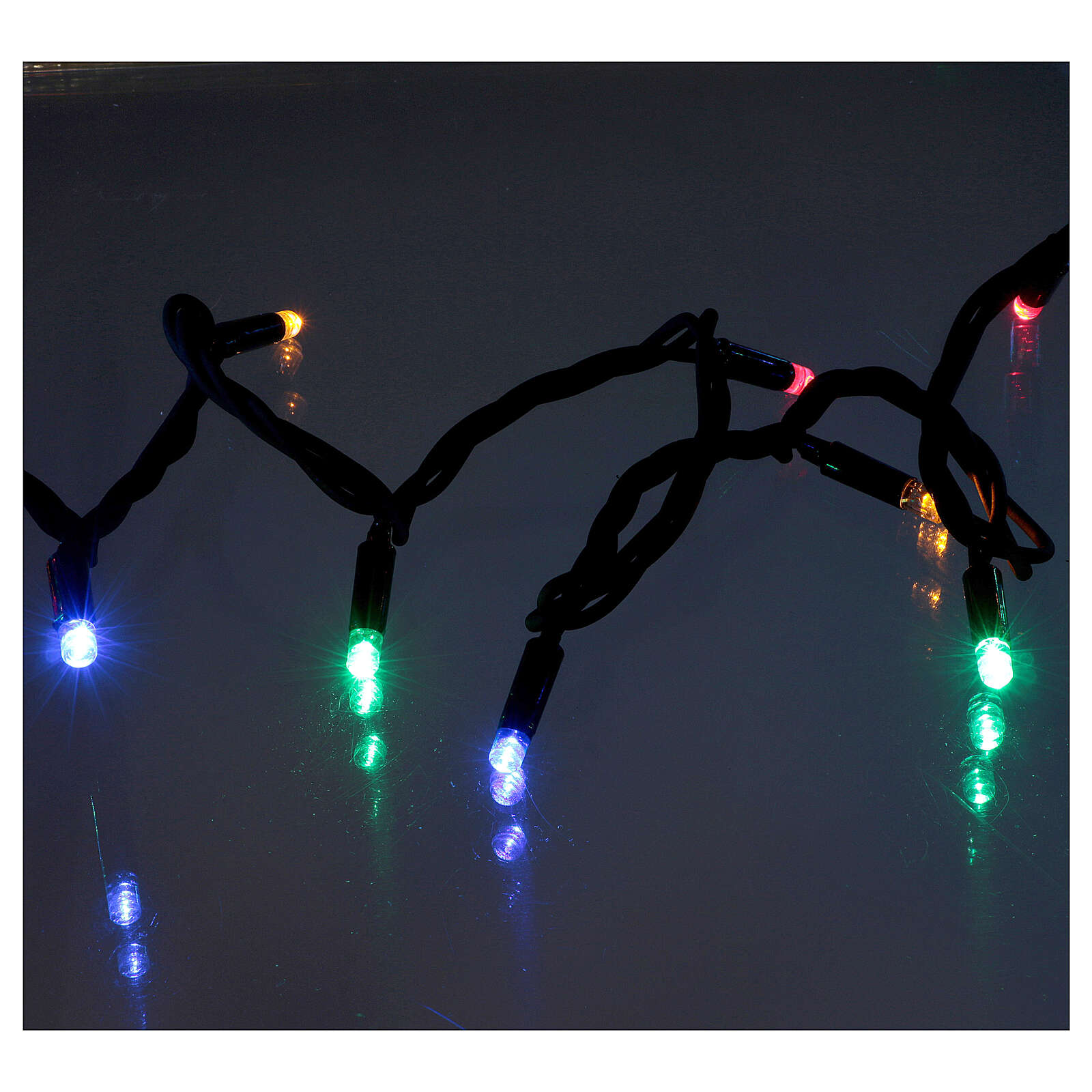 Multi-Color Christmas Lights 300 LED indoor and outdoor use 3
