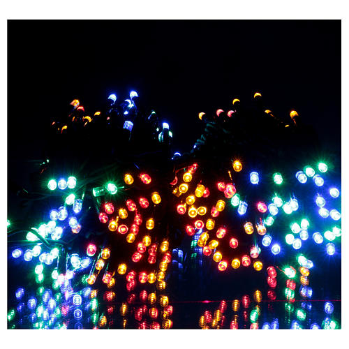 Multi-Color Christmas Lights 300 LED indoor and outdoor use 2