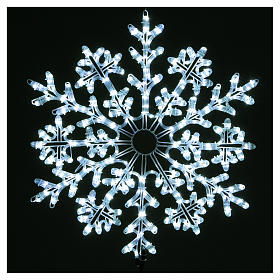 Snowflake 336 ice white LED lights for indoor and outdoor use s2