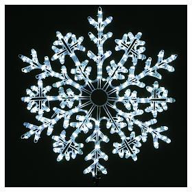 Fiocco di neve 336 Led Bianco ghiaccio interno ed esterno s2