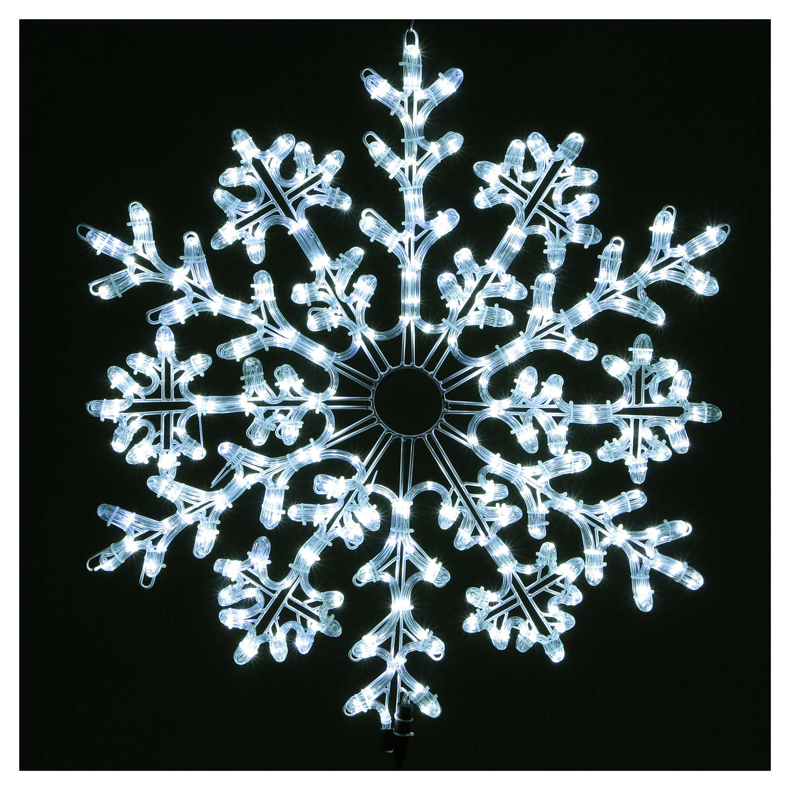 LED Snowflake 336 Ice White Lights Indoor and Outdoor Use 3