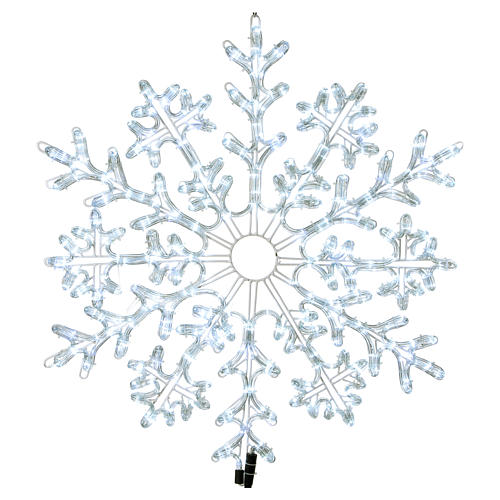 LED Snowflake 336 Ice White Lights Indoor and Outdoor Use 1