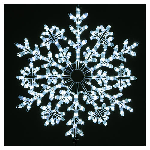 LED Snowflake 336 Ice White Lights Indoor and Outdoor Use 2