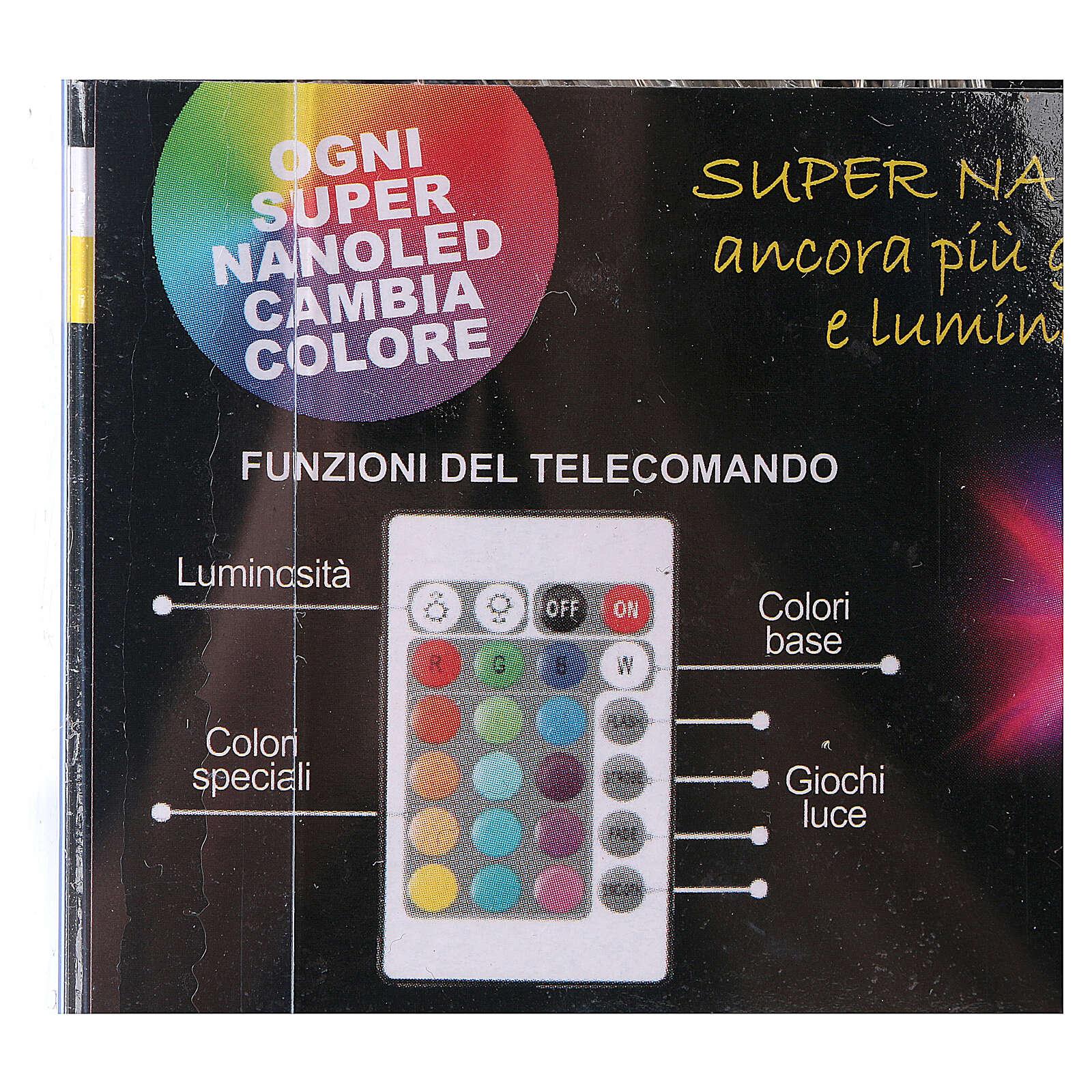 Lichter Vorhang 90 Minileds multicolor for Aussengebrauch 4