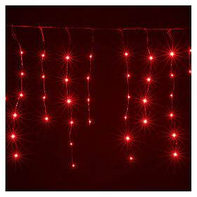 Lichter Vorhang 90 Minileds multicolor for Aussengebrauch s1