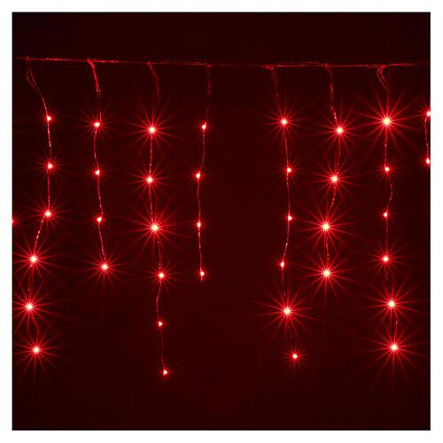 Lichter Vorhang 90 Minileds multicolor for Aussengebrauch 1