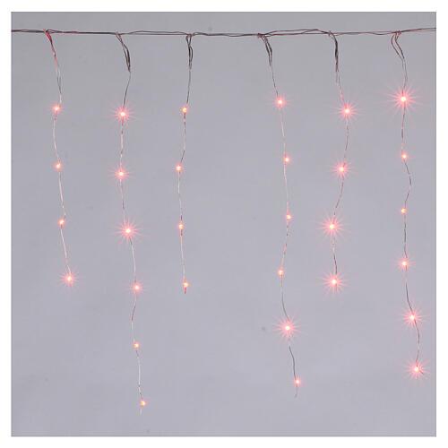 Lichter Vorhang 90 Minileds multicolor for Aussengebrauch 5