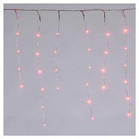 Christmas lights, bare wire 90 nano LED lights with effects, indoor and outdoor s1