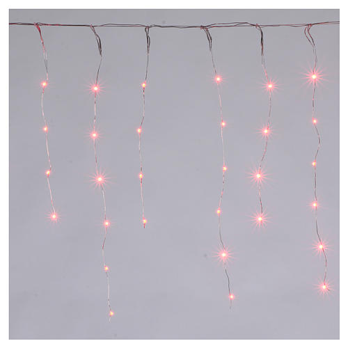 Christmas lights, bare wire 90 nano LED lights with effects, indoor and outdoor 1