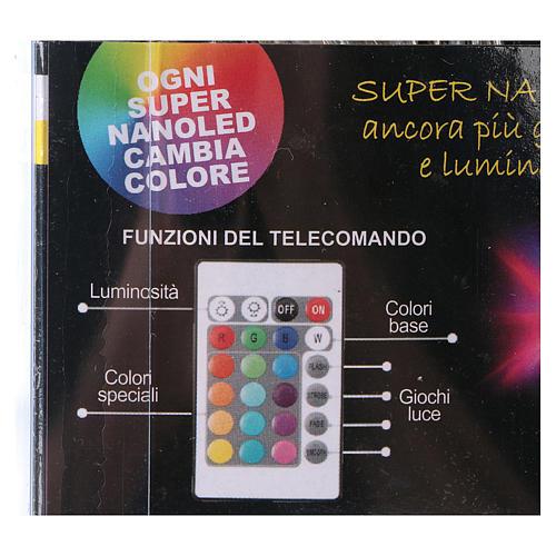 Cadena hilo desnudo 90 Nano Led juegos luz interior y exterior 11