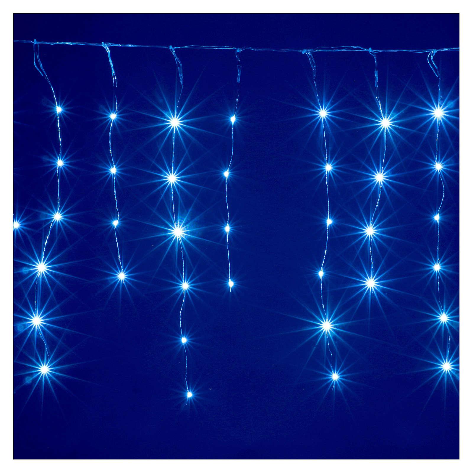 Cortina fio nu 90 nano Leds jogos luzes interior e exterior 3