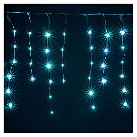 Cortina fio nu 90 nano Leds jogos luzes interior e exterior s5