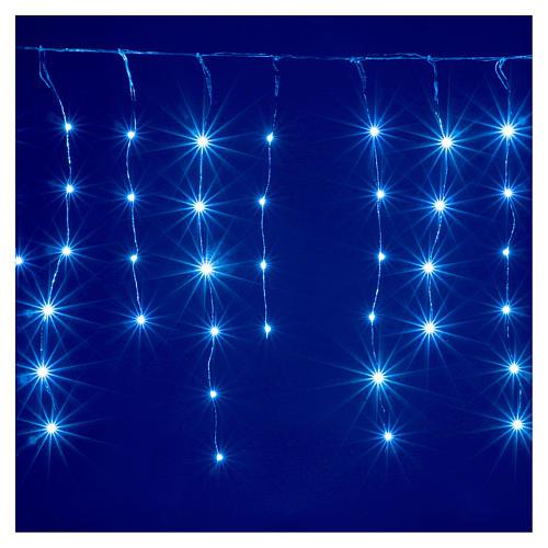 Cortina fio nu 90 nano Leds jogos luzes interior e exterior 4