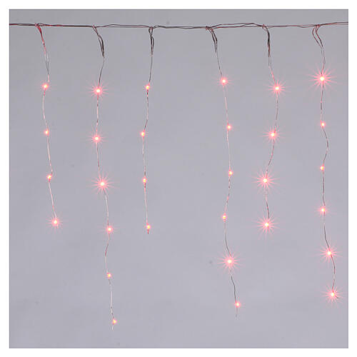 Curtain 180 nano LED lights with effects 4 m, indoor and outdoor use 1