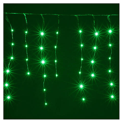 Curtain 180 nano LED lights with effects 4 m, indoor and outdoor use 2