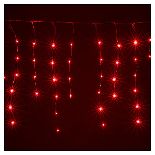 Curtain 180 nano LED lights with effects 4 m, indoor and outdoor use 5