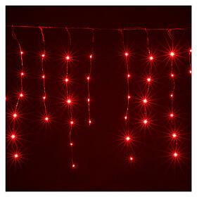 Rideau avec 180 nano Leds 4 m jeux lumières intérieur extérieur s5