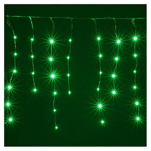 Rideau avec 180 nano Leds 4 m jeux lumières intérieur extérieur 2