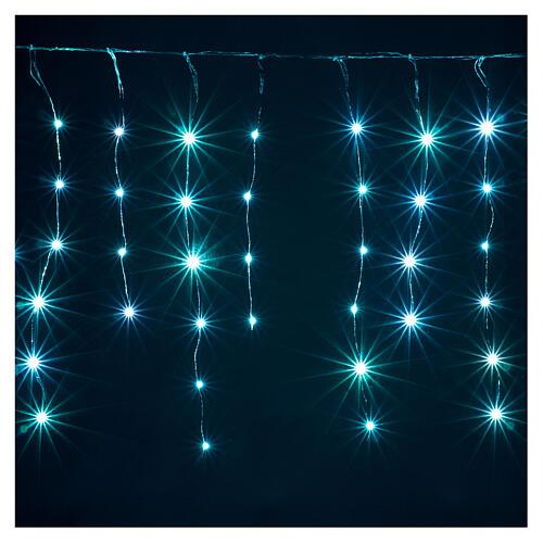 Rideau avec 180 nano Leds 4 m jeux lumières intérieur extérieur 4
