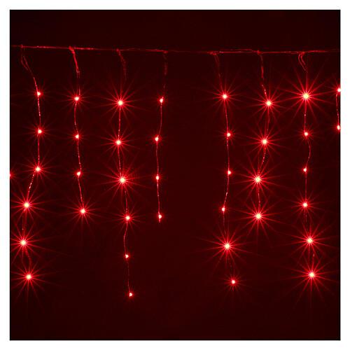 Rideau avec 180 nano Leds 4 m jeux lumières intérieur extérieur 5