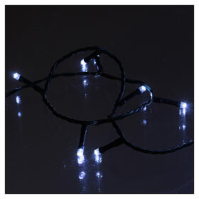 Chain with 1200 ice white LED lights with Memory and App s3