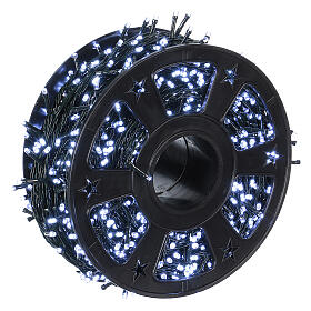 1200 LED String Lights Ice White with Memory and Application from Smartphone s3