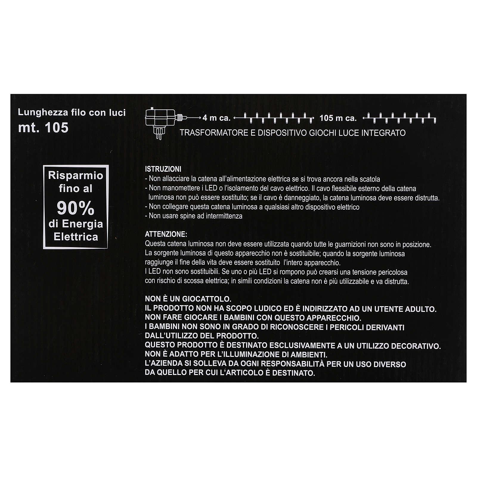 Bobina 1500 Led Blanco Hielo Memory y App 3