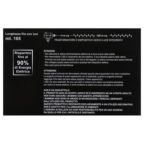 Bobina 1500 Led Blanco Hielo Memory y App 7