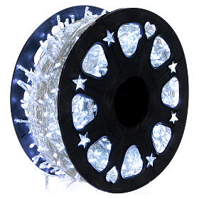 1500 LED String Light Wheel Ice White with Memory and App s1
