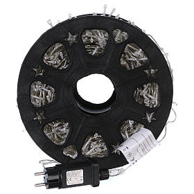 1500 LED String Light Wheel Ice White with Memory and App s4