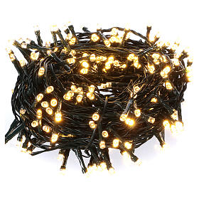Christmas lights: Chain with 300 warm and cold LED lights for indoor and outdoor use