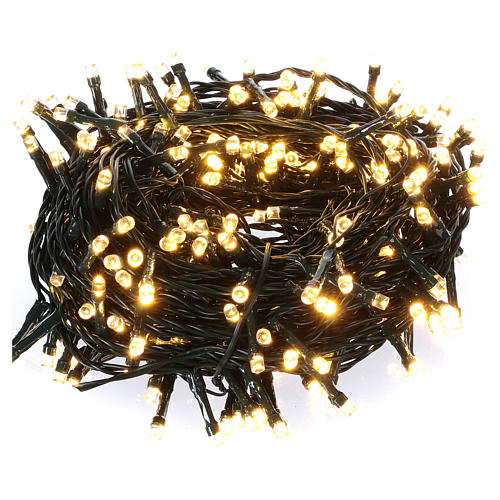 300 LED String Lights Warm and Cold Indoor and Outdoor Use 1
