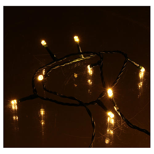 300 LED String Lights Warm and Cold Indoor and Outdoor Use 4