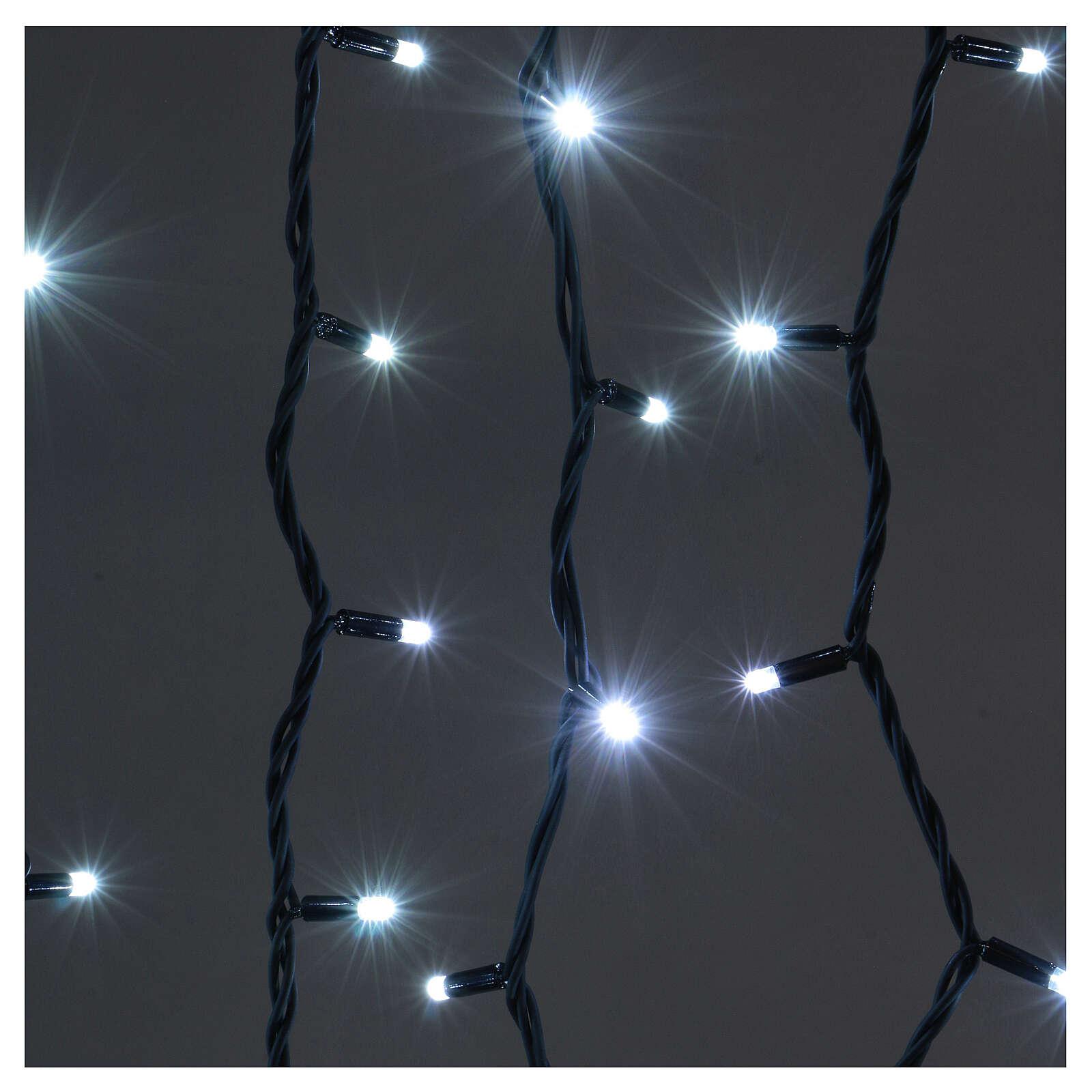 Jumbo LED String Light Curtain Ice White Extendable 3