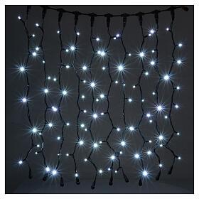 Jumbo LED String Light Curtain Ice White Extendable s1