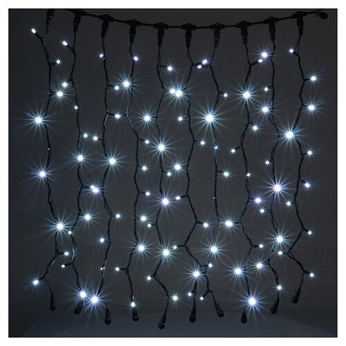 Jumbo LED String Light Curtain Ice White Extendable 1