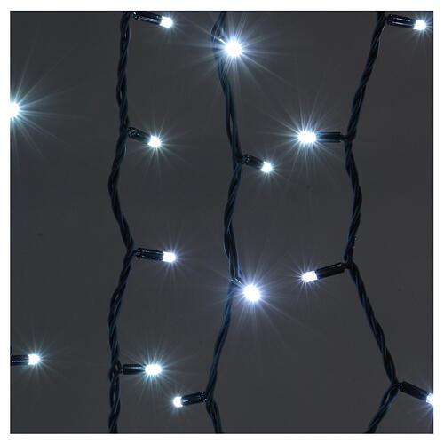 Jumbo LED String Light Curtain Ice White Extendable 2