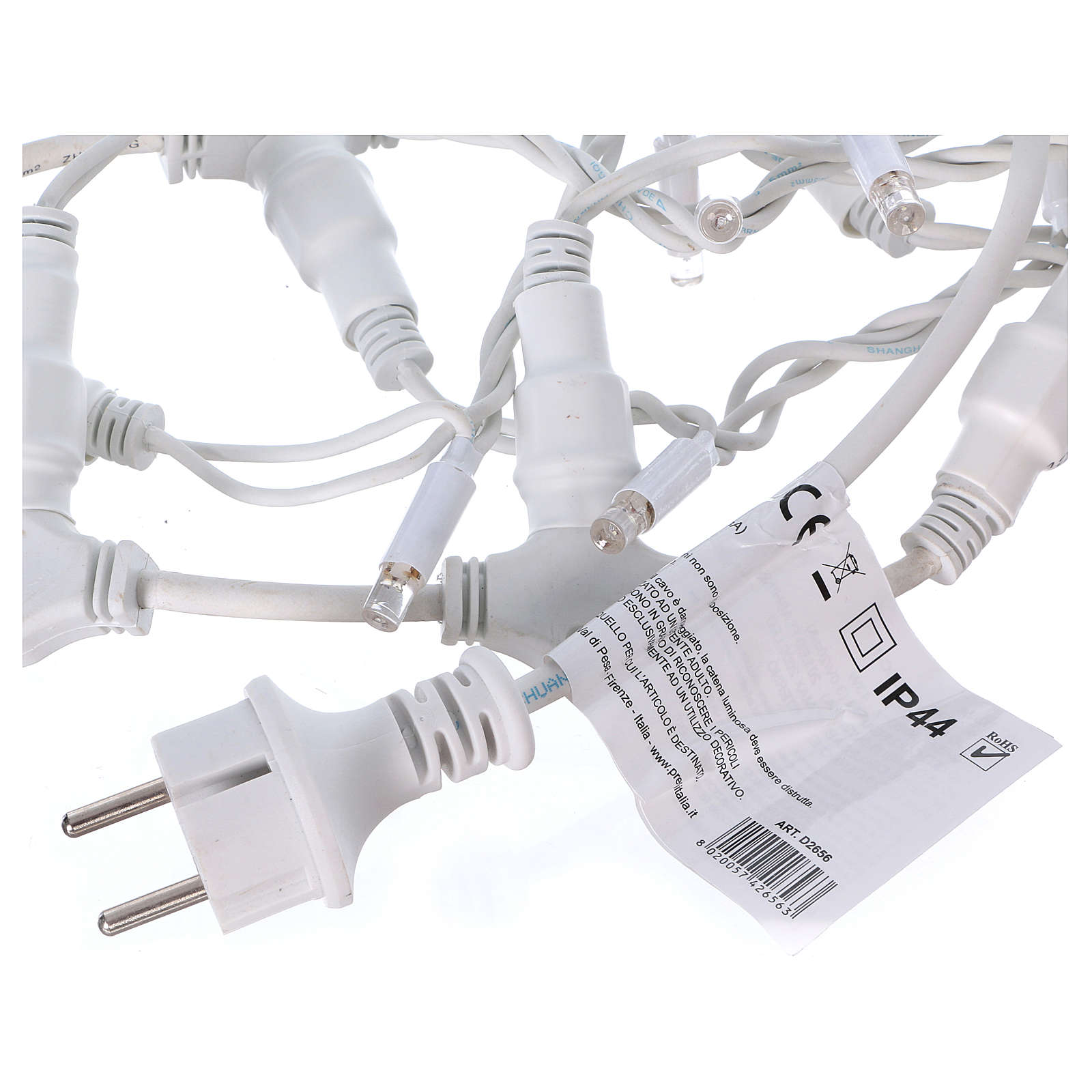 Curtain String Lights 100 Jumbo LED Cold Light Extendable 3