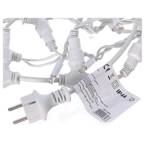 Curtain String Lights 100 Jumbo LED Cold Light Extendable 5