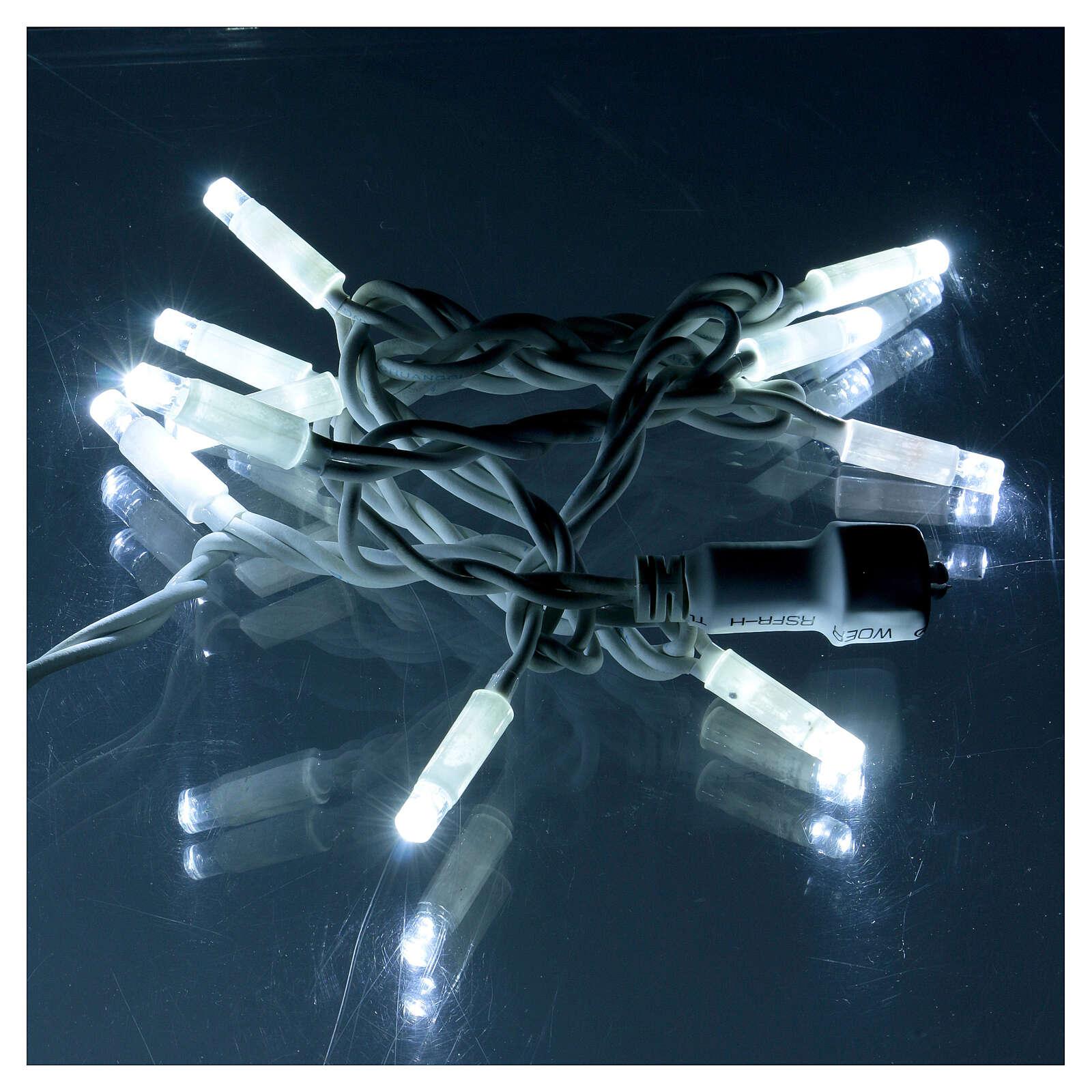 Light Extension 10 Jumbo LED ice white 1 Meter 3