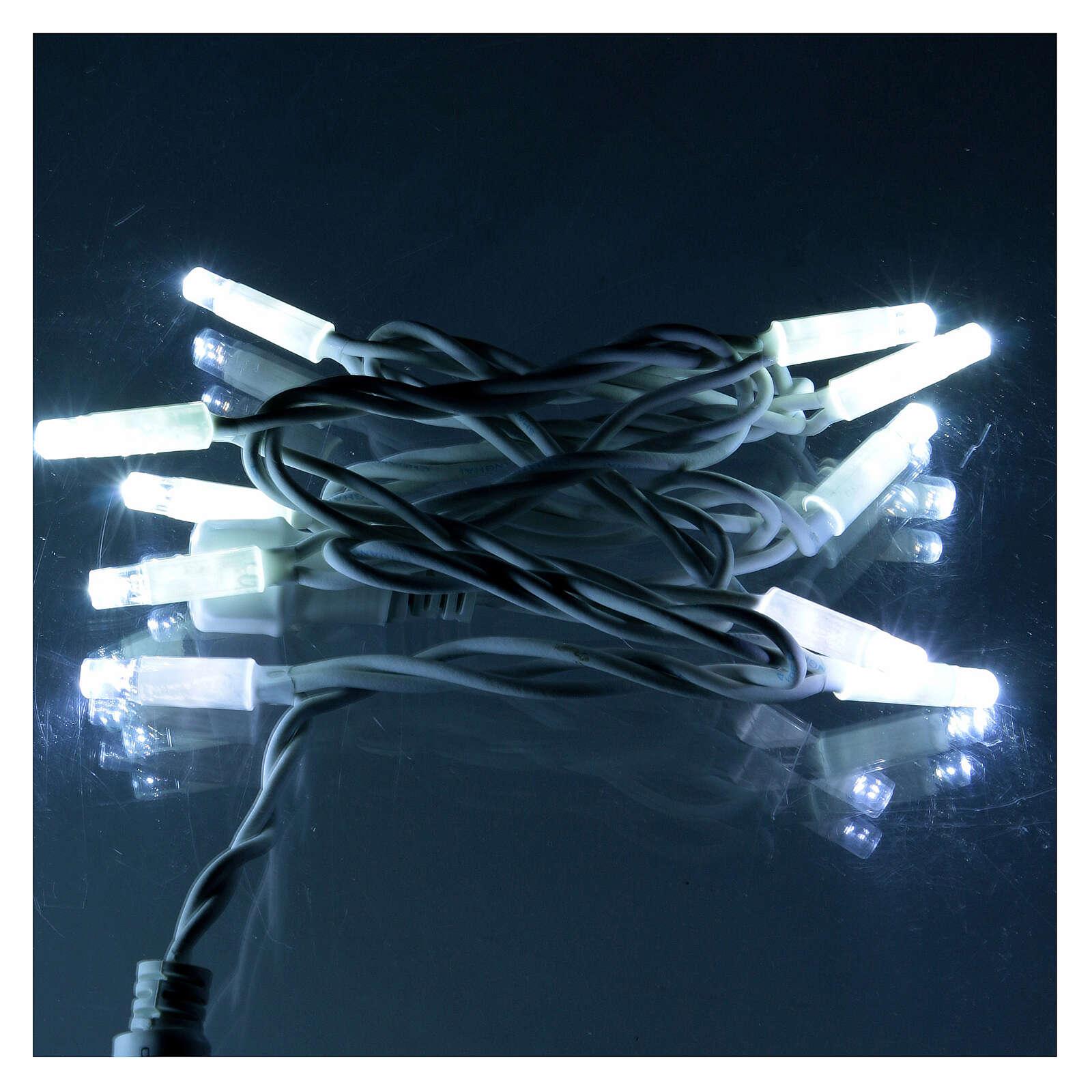 Extendable LED Light Module 10 Jumbo LED Lights Ice-White 1 meter 3
