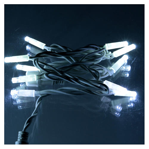 Extendable LED Light Module 10 Jumbo LED Lights Ice-White 1 meter 2