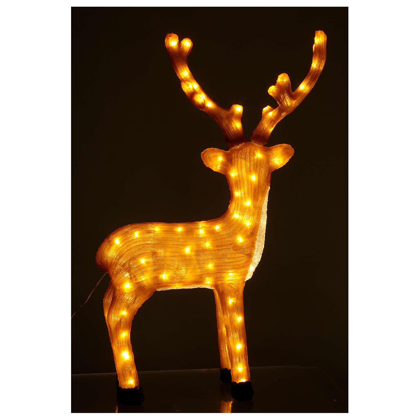 Iluminación Reno Marrón 120 Led luz cálida 84 cm 3